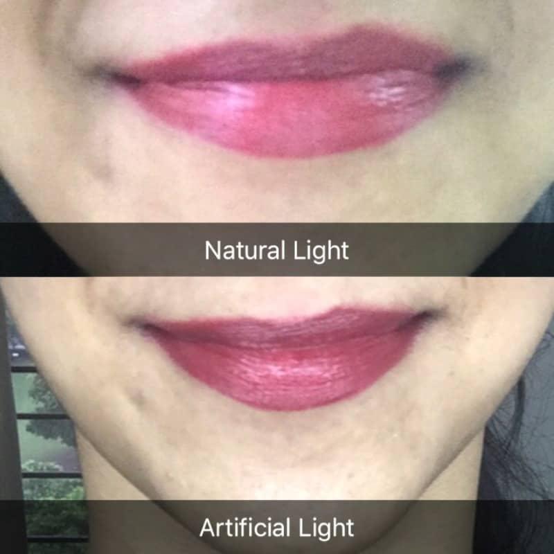 Elle 18 Color Pop Matte Lip Color Super Pink 4