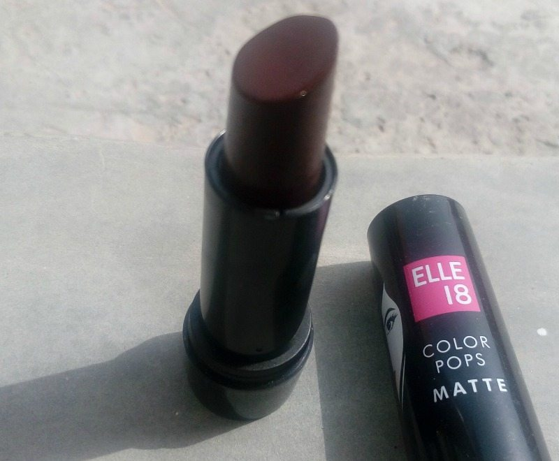 Elle 18 Color Pops Matte Lipstick Berry Crush  2