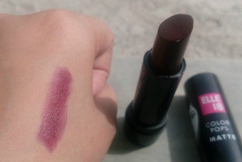 Elle 18 Color Pops Matte Lipstick Berry Crush  4
