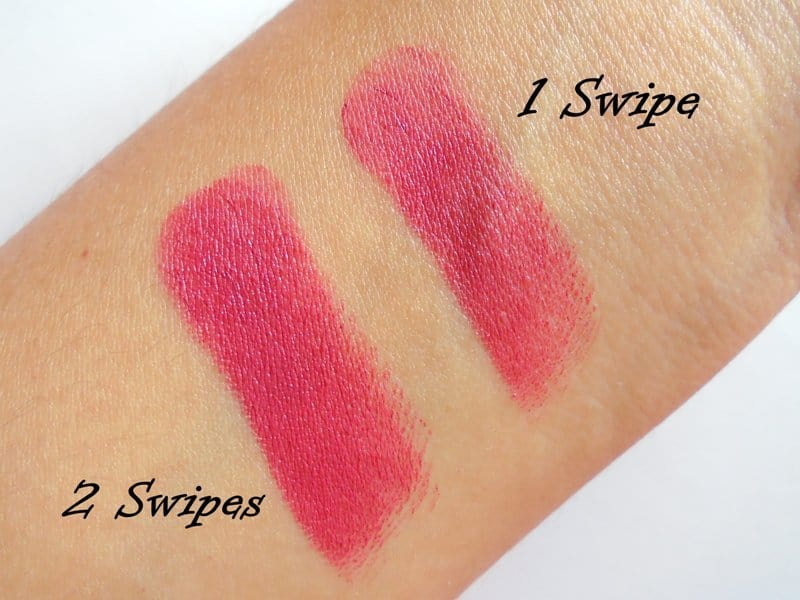Elle 18 Color Pops Matte Lipstick Mauve Date Review 4