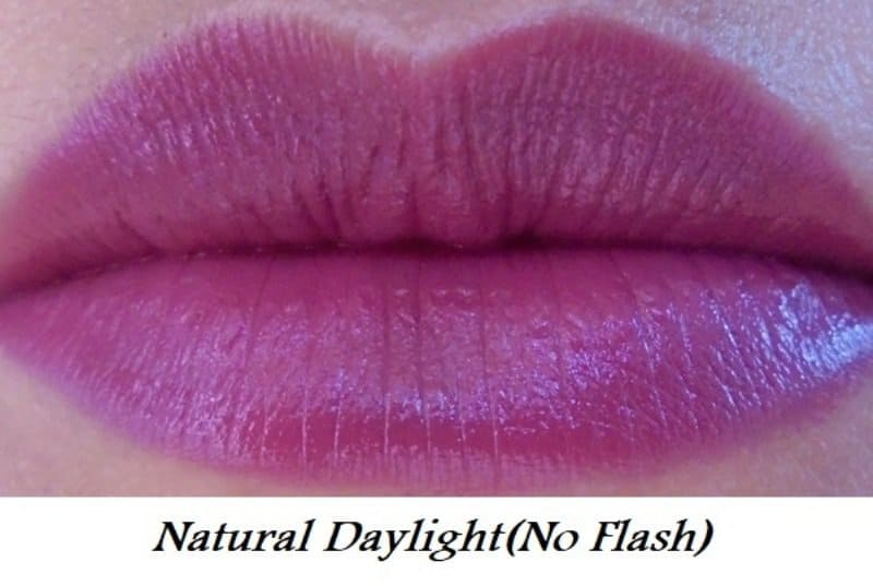 Elle 18 Color Pops Matte Lipstick Mauve Date Review 5