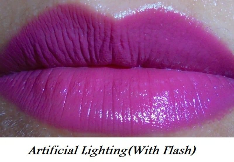 Elle 18 Color Pops Matte Lipstick Mauve Date Review 6