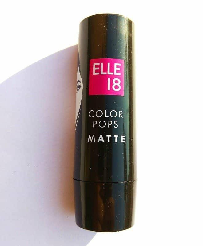 Elle18 Color Pop Matte Lipstick Selfie Red (R34)