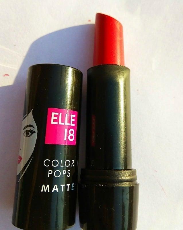 Elle18 Color Pop Matte Lipstick Selfie Red (R34) 1