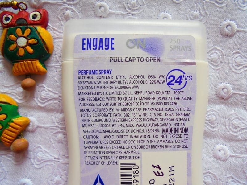 Engage Pocket Perfume Sweet Blossom 3