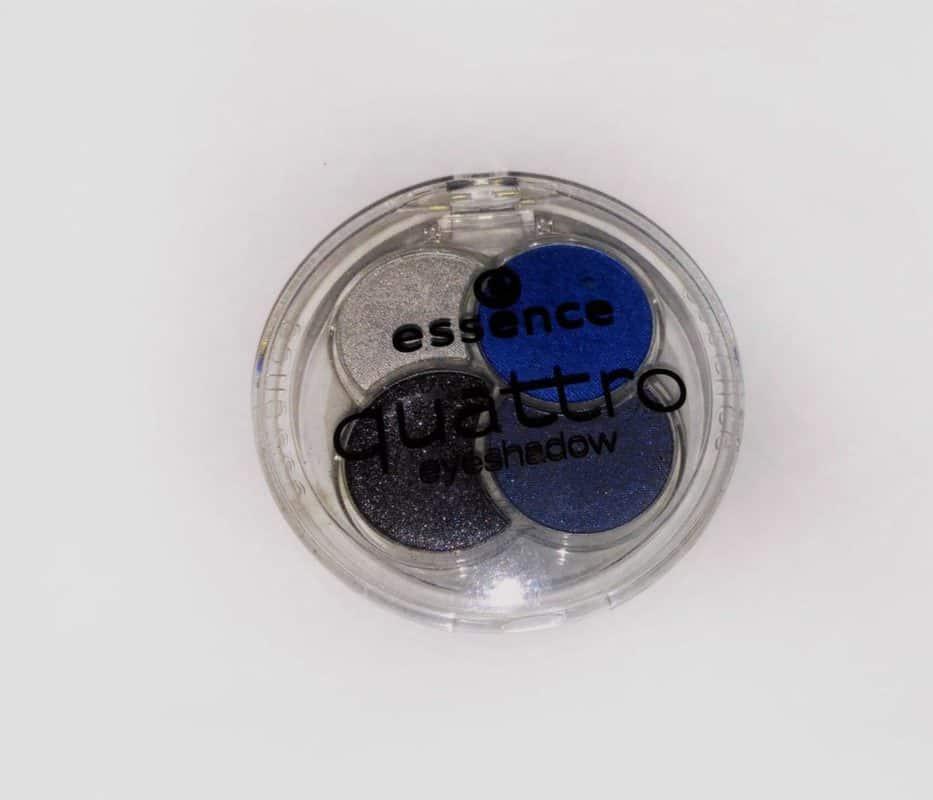 Essence Quattro Eyeshadow 09 Denim  2