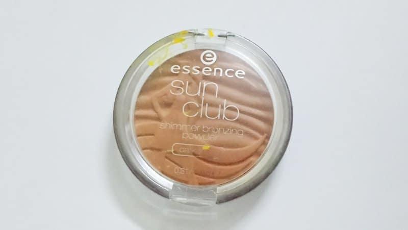 Essence Sun Club Shimmer Bronzing Powder 20 Suntanned