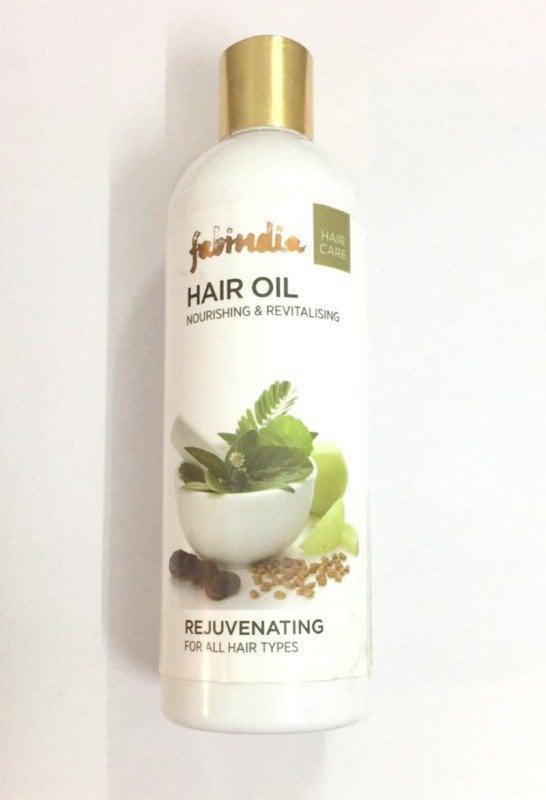 Fabindia Herbal Rejuvenating Hair Oil Review