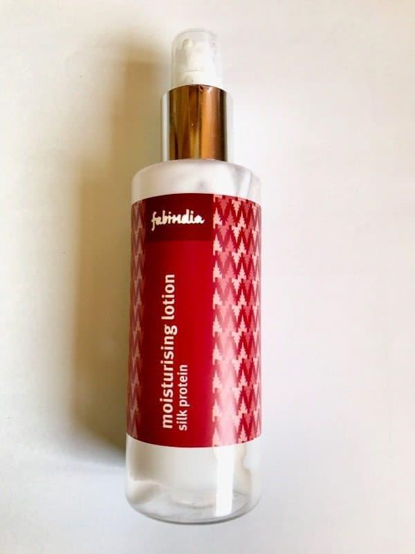 Fabindia Silk Protein Moisturizing Lotion Review 4