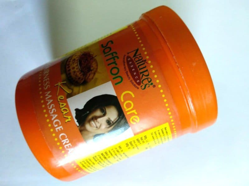 Face Massage Cream :Nature's Essence Saffron Care Kesar Fairness