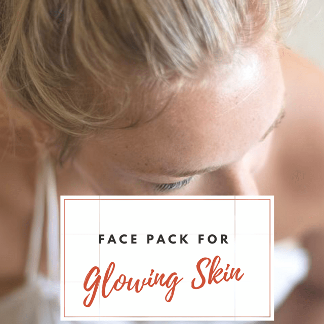 Face Pack for Glowing Skin