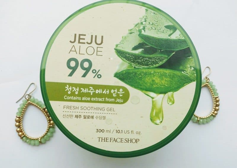 Face Shop Jeju Aloe Fresh Soothing Gel