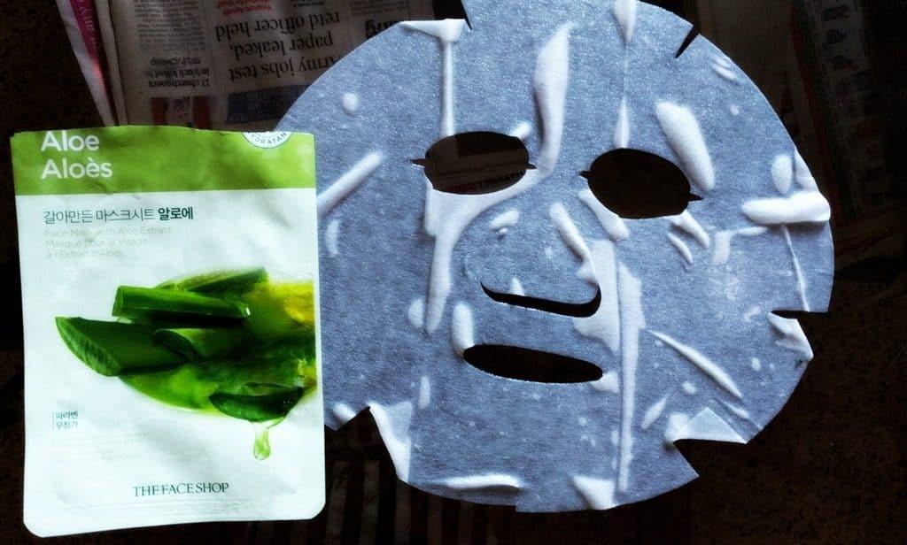 Face Shop Real Nature Aloevera Face Mask 3