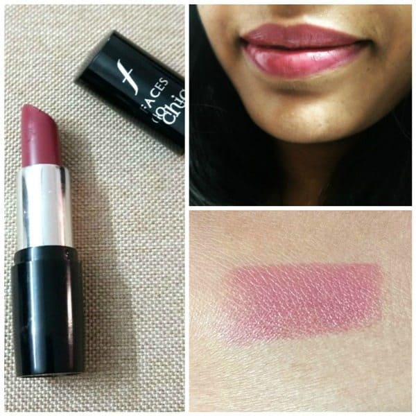 Faces Go Chic Lipstick Mulberry Slush 214 Review