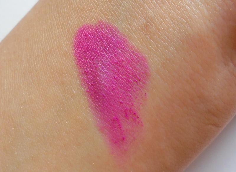 Faces Lipstick Purple Tiara 07 Review 2