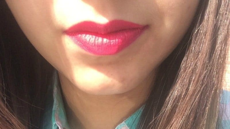 Faces Ultimate Pro Starry Matte Lip Crayon Hot Wired 04  1