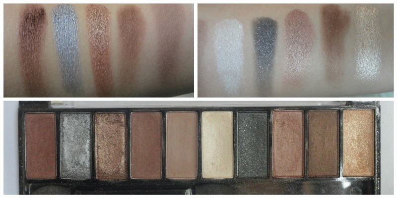 Faces Ultime Pro Eyeshadow Palette Nude