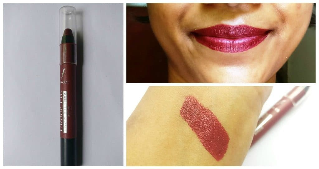 Faces Ultime Pro Starry Matte Lip Crayon Sinful 02