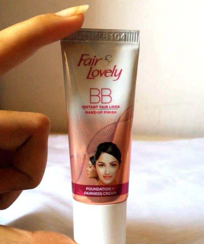 Fair and Lovely BB Instant Fair Look Fairness Cream Review 1