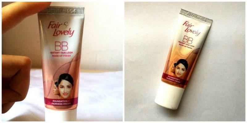 Fair and Lovely BB Instant Fair Look Fairness Cream Review 5