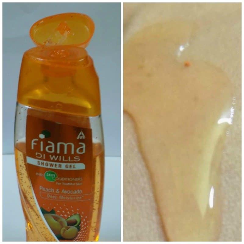 Fiama Di Wills Peach and Avocado Deep Moisturize Shower Gel 1