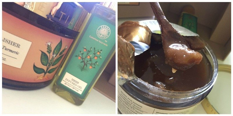Forest Essentials Body Polisher Sandalwood and Turmeric