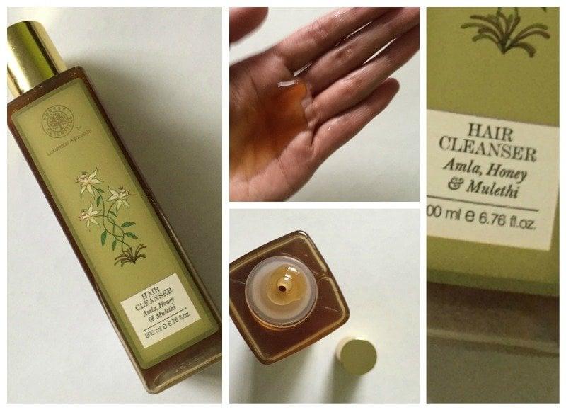 Forest Essentials Hair Cleanser Amla Honey & Mulethi
