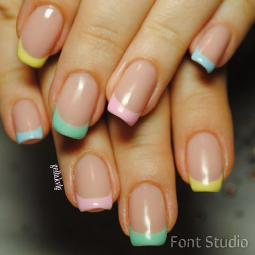 You Will Love these French Manicure Ideas 2019 ! 6