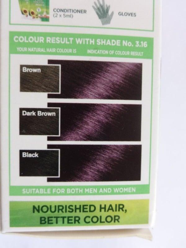 Garnier Color Naturals Burgundy 3.16 Review  1
