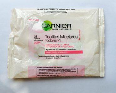 Garnier Skin Naturals Micellar Extra Gentle Cleansing Wipes Review