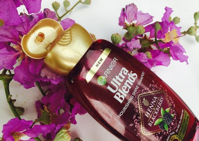 Garnier Ultra Blends Henna Blackberry Shampoo 1