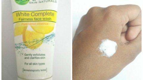 Garnier White Complete Fairness Face Wash 4