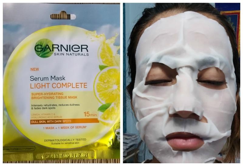 Garniier Skin Naturals Light Complete Serum Mask