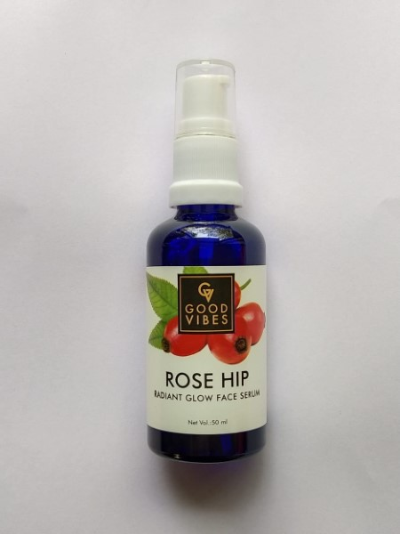 Good Vibes Rose Hip Radiant Glow Face Serum Review 2