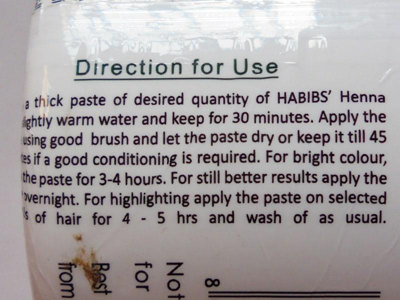Habibs Aesthetics Henna Rare Mix of Himalayan Herbs 1