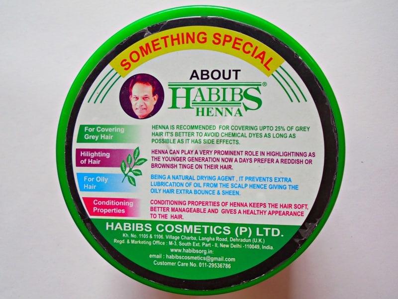 Habibs Aesthetics Henna Rare Mix of Himalayan Herbs 3