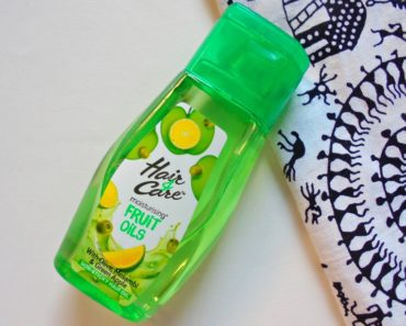 Hair & Care Moisturizing Fruit Oils with Green Apple, Olive & Mosambi Review