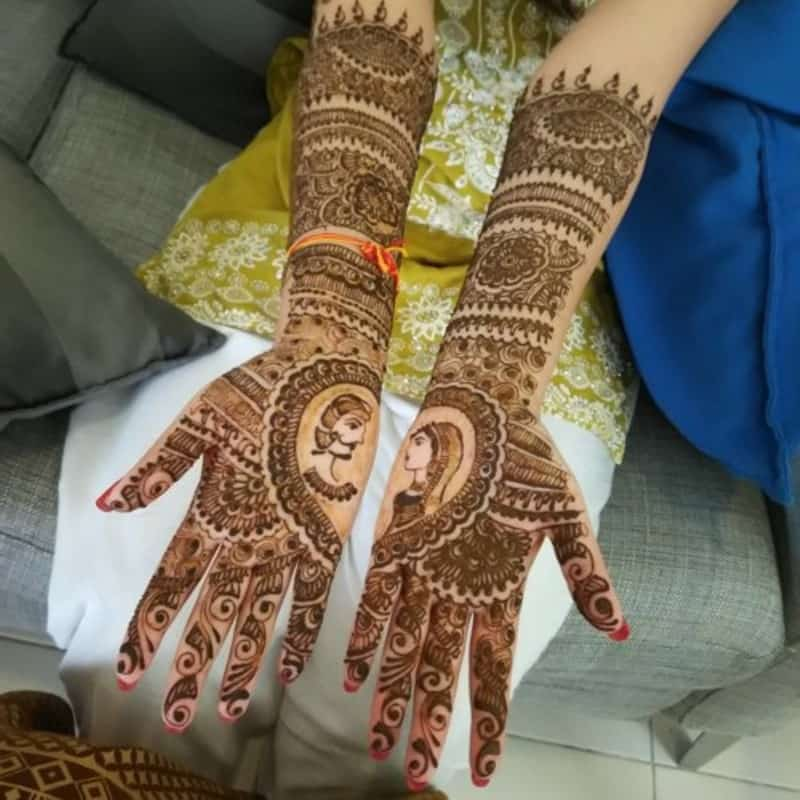 Henna Designs – Choose your Love Mehendi Design with Hearts 2