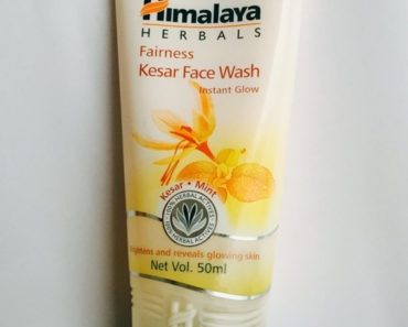 Himalaya Fairness Kesar Face Wash 1