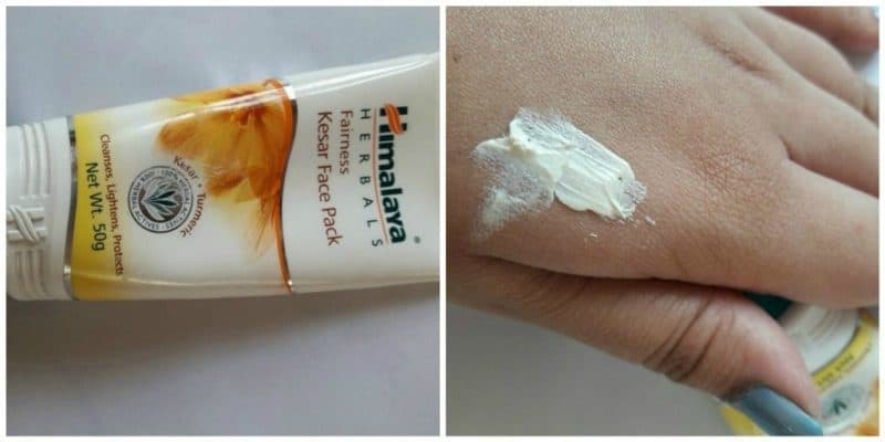 Himalaya Fairness Kesar Pack Review 3