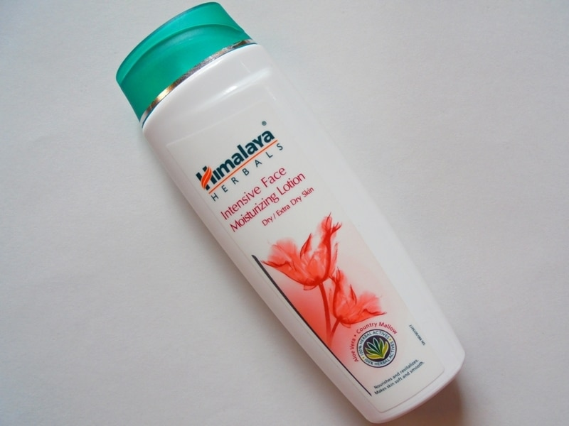 Himalaya Herbals Intensive Face Moisturizing Lotion Review