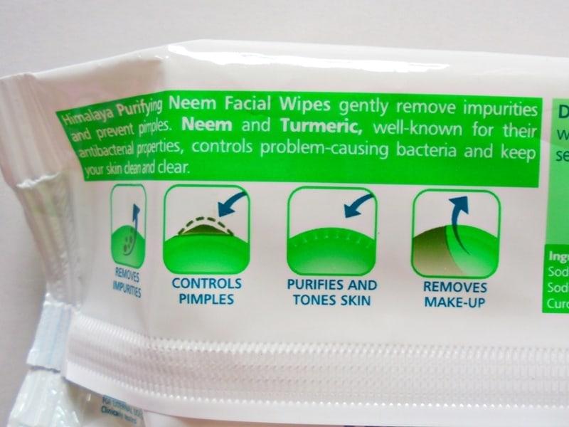 Himalaya Herbals Purifying Neem Facial Wipes 1