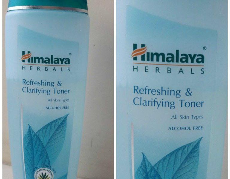 Himalaya Refreshing and Clarifying Toner Review