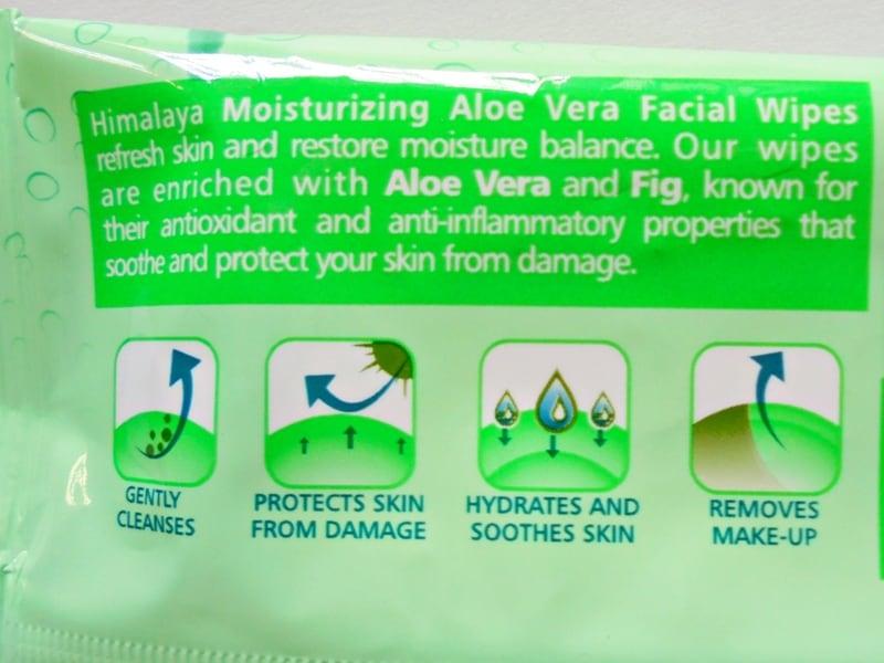 Himalaya Wipes : Moisturizing Aloe Vera 1