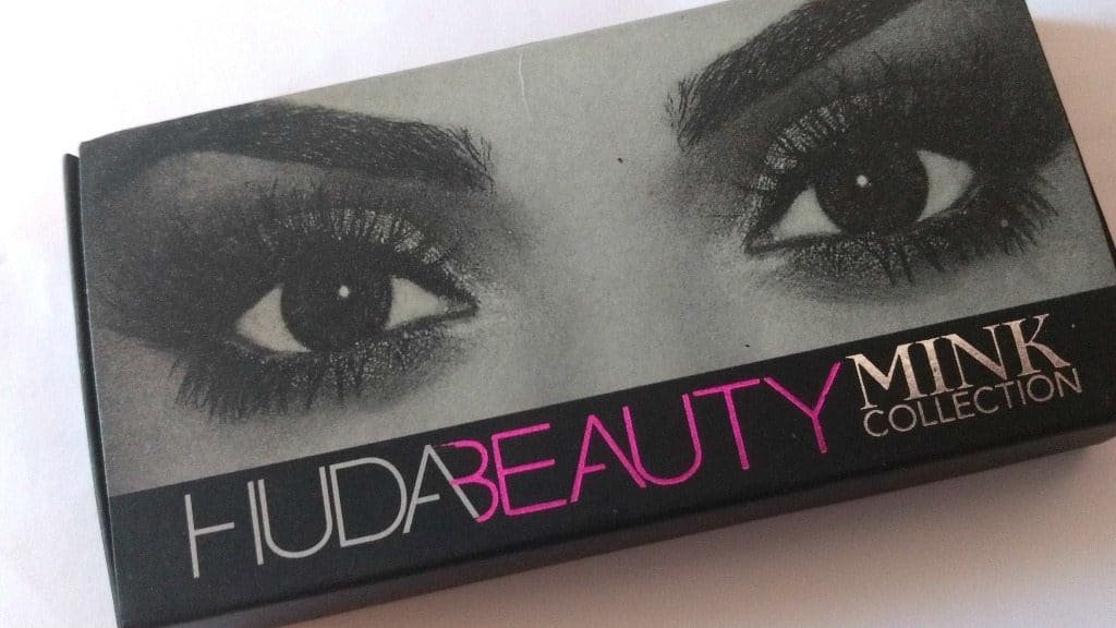 Huda Beauty Mink Collection Bridget Eye Lashes Review 1