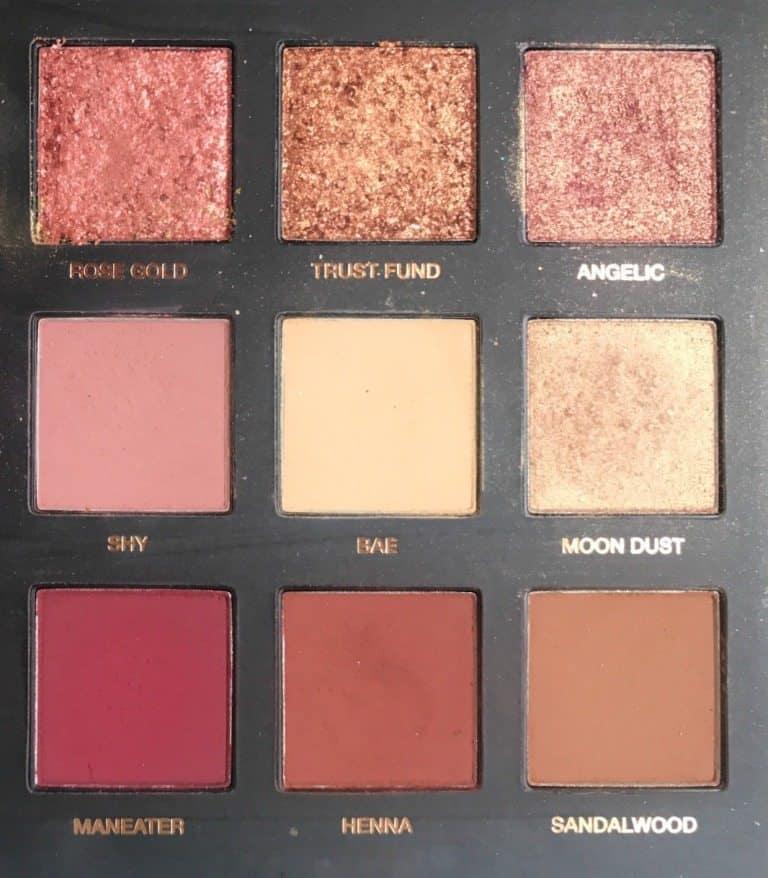 Huda Beauty Rose Gold Edition Eyeshadow Palette 3