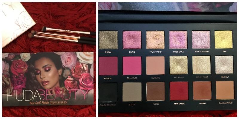 Huda Beauty Rose Gold Remastered Eyeshadow Palette