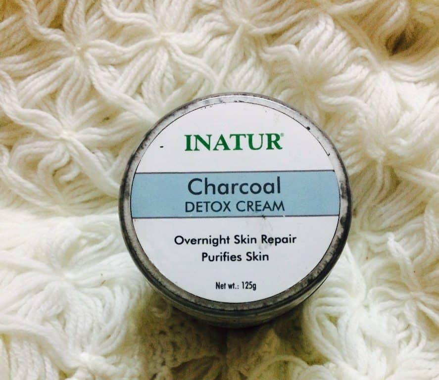 Inatur Charcoal Detox Cream
