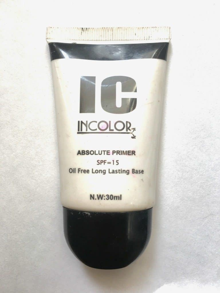 Incolor Absolute Primer With SPF 15 Review