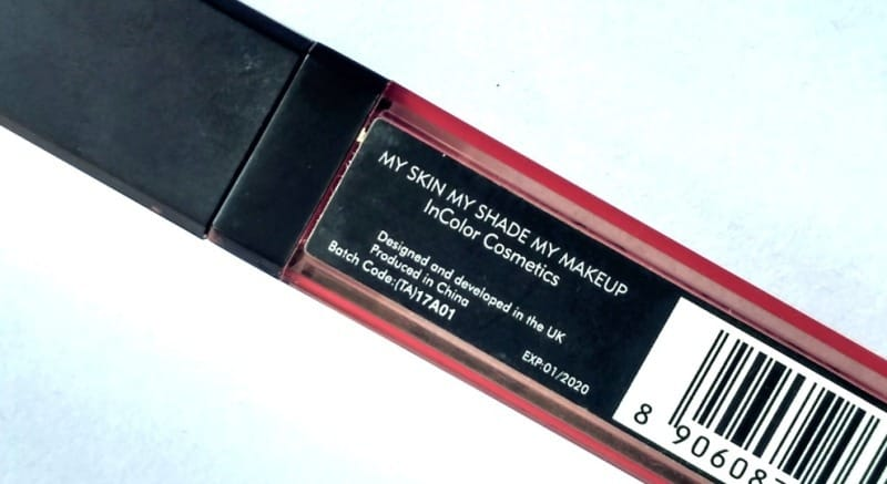 Incolor Matte Me Lipstick 424 1